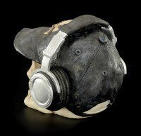 Skull with Cap and Headphones