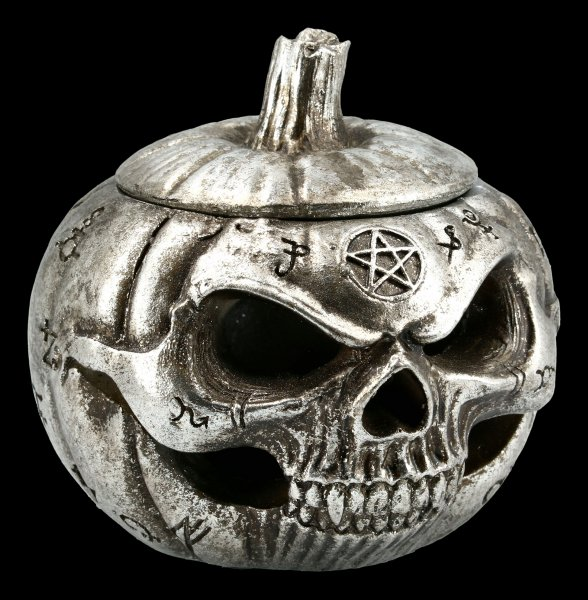Alchemy Schatulle - Kürbis Totenkopf