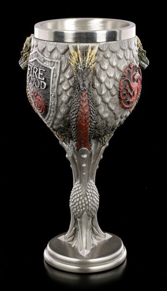 Game of Thrones Goblet - House Targaryen