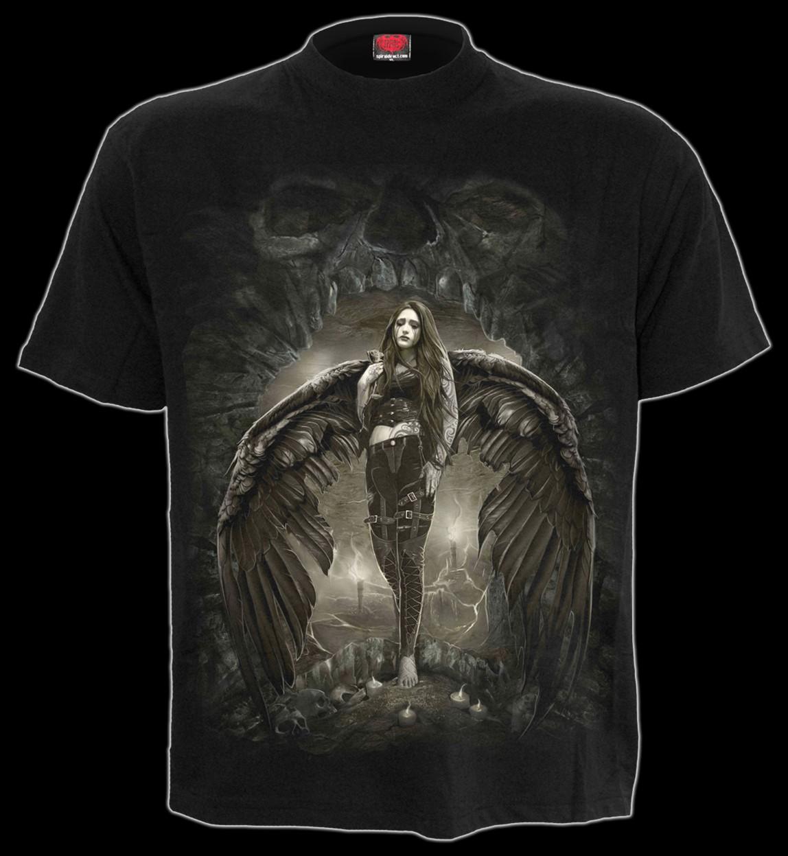 T-Shirt - Gothic Engel - Dark Angel