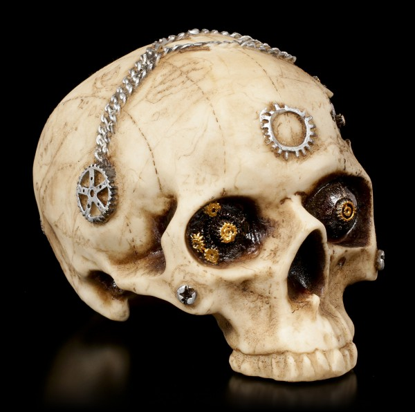 Steampunk Totenkopf - Mechanic Brain
