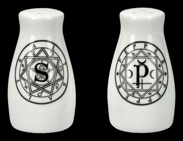 Salz- und Pfefferstreuer - Magic Circles