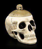 Box - Skull with Skullcap - large