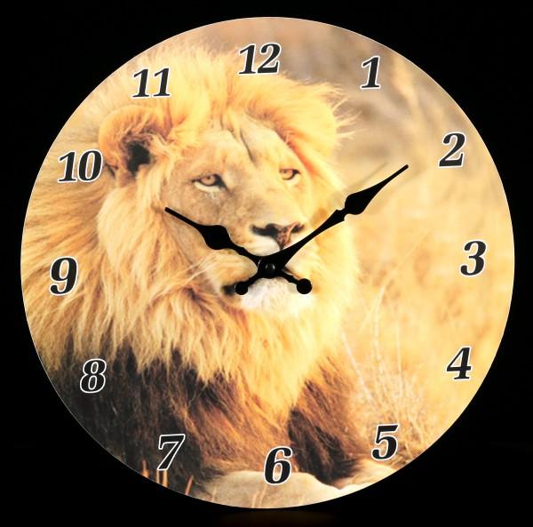 Clock - Lion