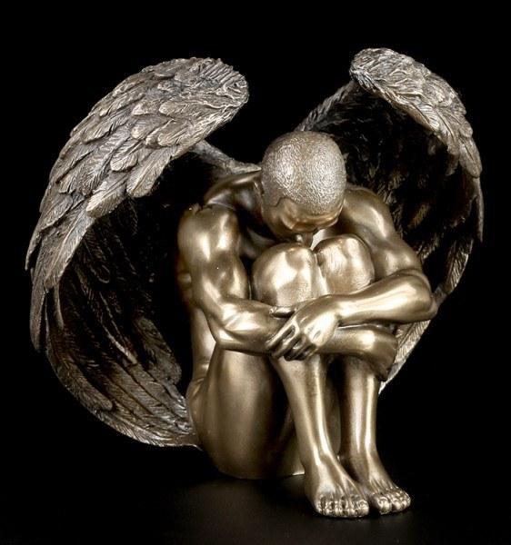 Männlicher Engel - Akt Figur - Angels Contemplation