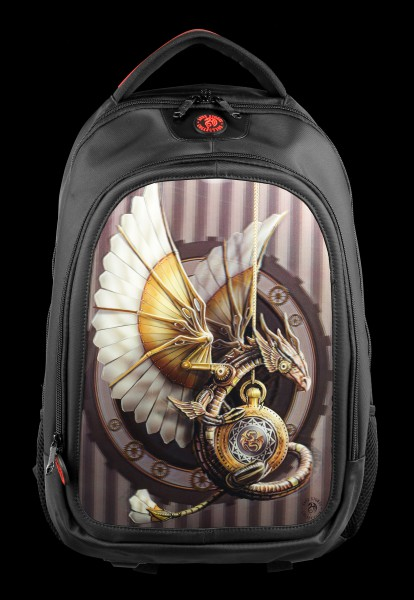 3D Rucksack Steampunk Drache - Clockwork Dragon