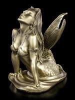 Mermaid Figurine by Monte M. Moore