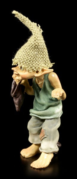 Pixie Goblin Figurine barefoot - Pssssst!