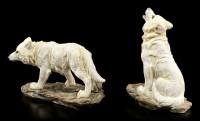 Wolf Figuren Set - Auf der Jagd - 2er Set