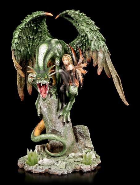Elfe und Drachen Figur - The Lovers
