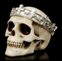 Skull with silver Crown