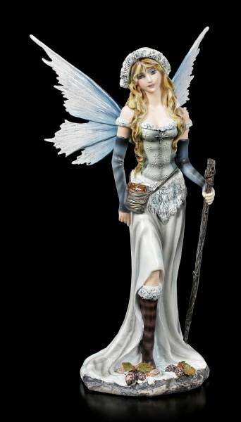 Elfen Figur - Nivalis mit Stab