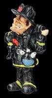 Funny Job Fridge Magnet - Fire Fighter