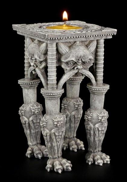 Teelichthalter - Tisch aus Gargoyle Krallen