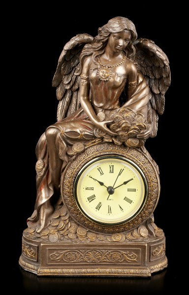 Table Clock - Fortuna Angel