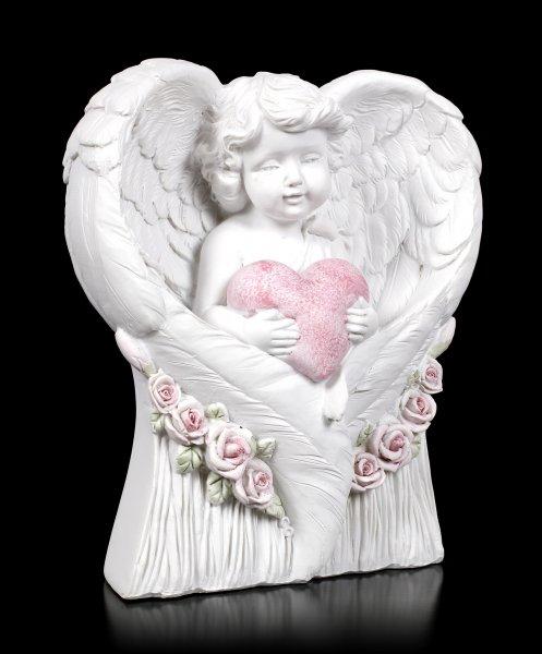 Angel Figurine - Cherub Heart