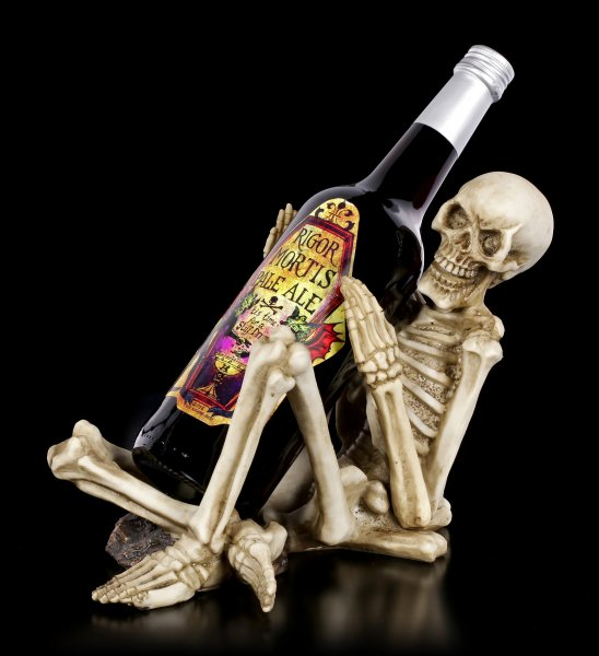 Skeleton Wine Holder - One Too Many