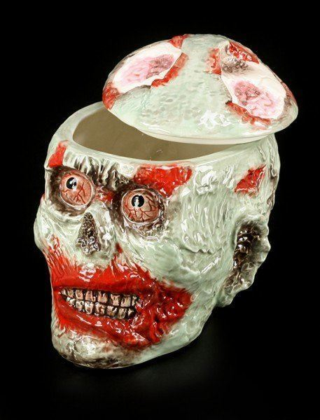 Large Zombie Cookie Jar - Ceramic
