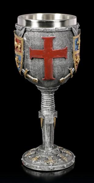 Mittelalter Kelch - Wappen