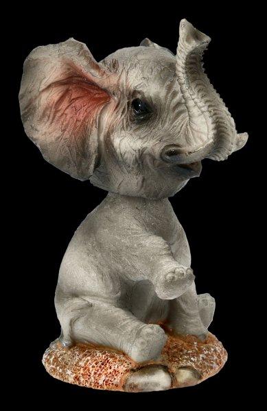Bobble Head Figurine - Elephant Elly