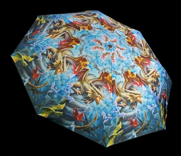 Regenschirm mit Drachen - Dragon Clan