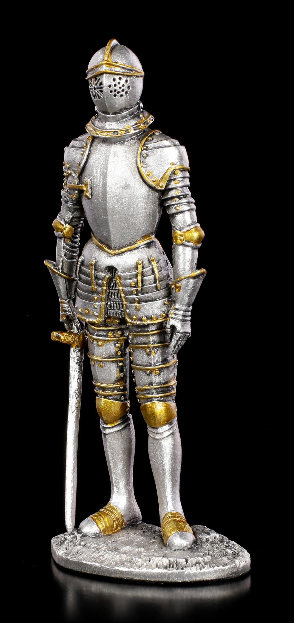 Zinn Ritter Figur Mit Schwert VII By Veronese Www