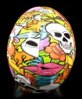 Colourful Comic Skull - Calypso