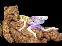 Fairy Figurine - Bear Hug