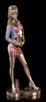 Sexy Woman Figurine in Disco Outfit