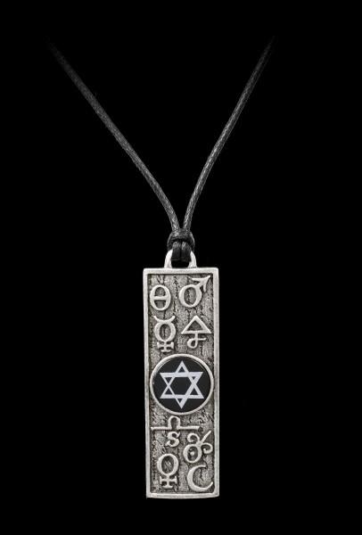 Alchemy Pentagram Necklace - Principia Alchemystica