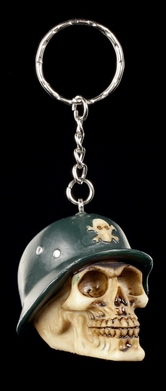 Totenkopf Schlüsselanhänger - General Grimrace