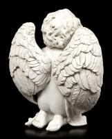 Engel Figur - Cherub betend auf den Knien