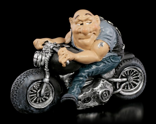 Funny Life Figurine - Cool Biker