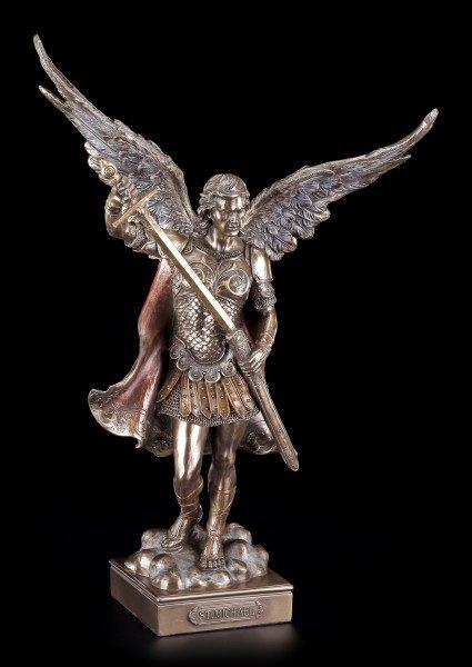 Erzengel Figur - Hl. Michael - Frieden und Gerechtigkeit