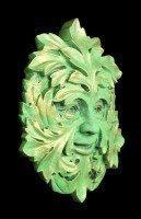 Garden Wall Plaque - The Green Mystic