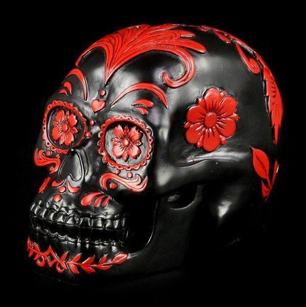 Schwarzer Totenkopf - Day Of The Dead