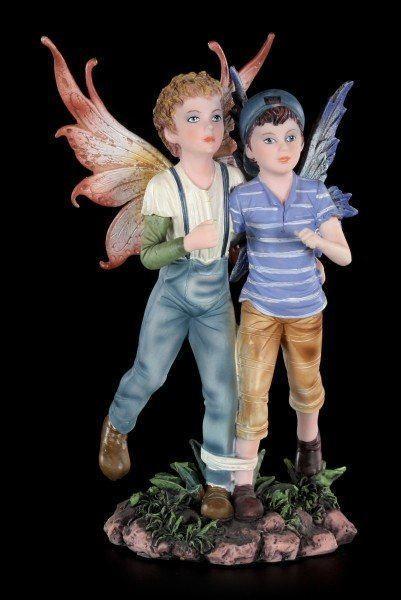 Fairy Boys Figurine - Running with three Legs