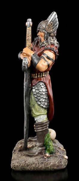Wikinger Krieger Figur mit Schwert