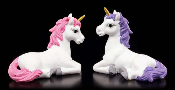 Einhorn Figuren 2er Set - Unicorn Wishes - mittel