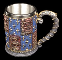 Knight Tankard with Crest