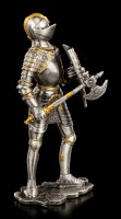 Pewter Knight with Axe and Shield