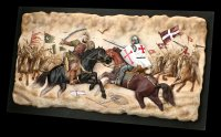 Wall Ornament - Battle of Crusaders vs. Saracens