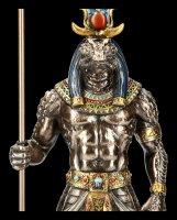 Sobek Figurine Egyptian God with Crocodile Head