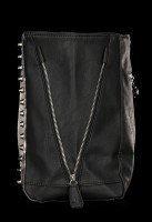 Faux Leather Bag - Black Cat