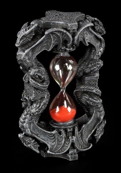 Sanduhr mit Drachen - Eternal Protector