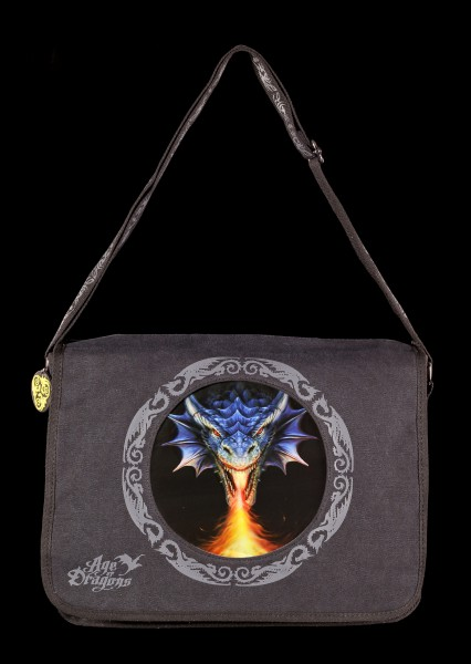 Messenger Bag with 3D Picture - Fire Breather