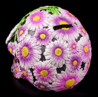 Money Bank - Sugar Petal Skull