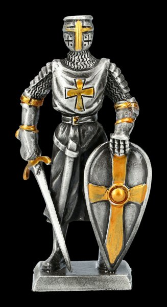 Pewter Knight Figurine - Teutonic Order