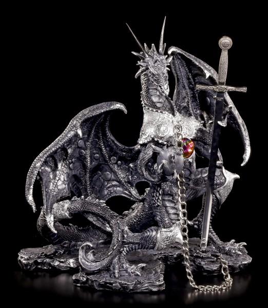 Drachen Figuren Gothic Schwarz Online Kaufen