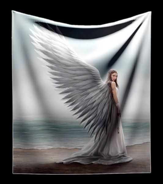 Kuschelige Decke mit Engel - Spirit Guide